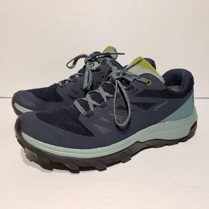 Salomon Outline GTX Trellis/Navy/Guacamole #7.5